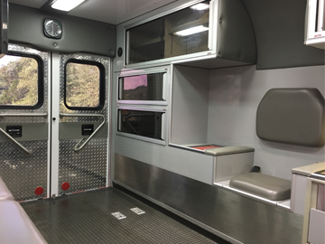 Ambulance Vehicle Interior